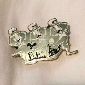 Disney D23 fan club skeleton dance pin 2019
